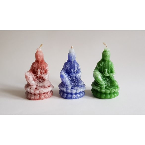 Vékony Buddha (ülő, színátmenetes)