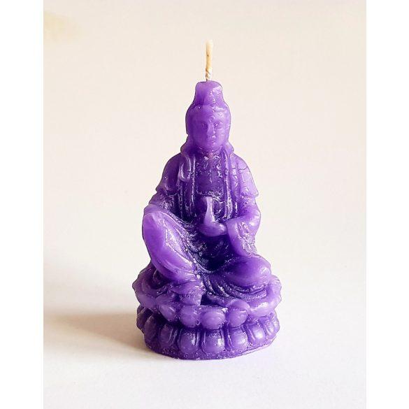 Vékony Buddha (ülő, egyszínű)