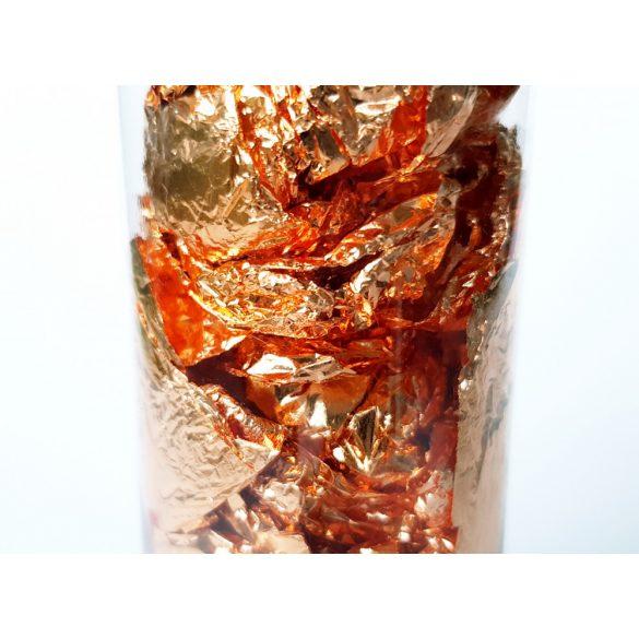 Bronz henger (bronz füstfólia pehely)