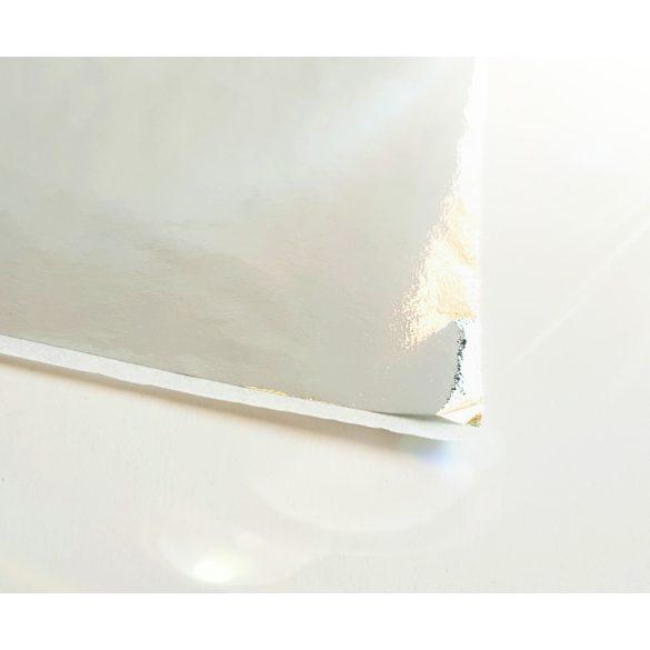 Díszítő lapocska (ezüst)