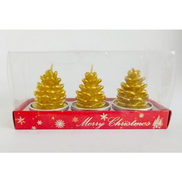 Fenyőfa ajándékgyertya csomag