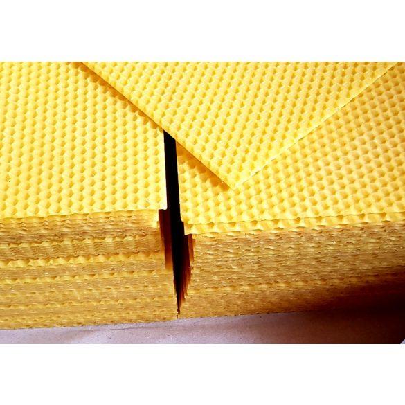 Méhviasz lap (műlép)