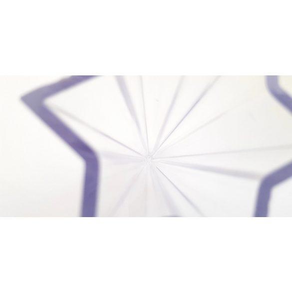 Műanyag csillag-piramis gyertyaöntő forma