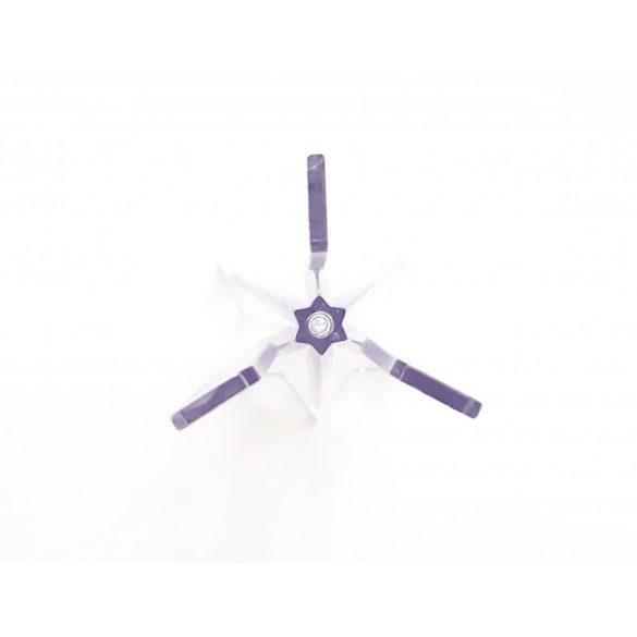 Csillag-piramis gyertyaöntő forma