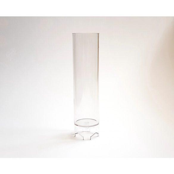 Henger gyertyaöntő forma (magasabb)