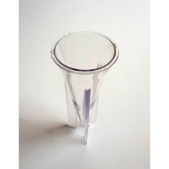 Műanyag kúp gyertyaöntő forma