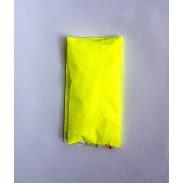 Neon citromsárga pigment