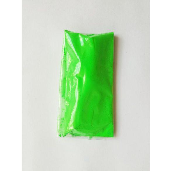 Neon zöld pigment