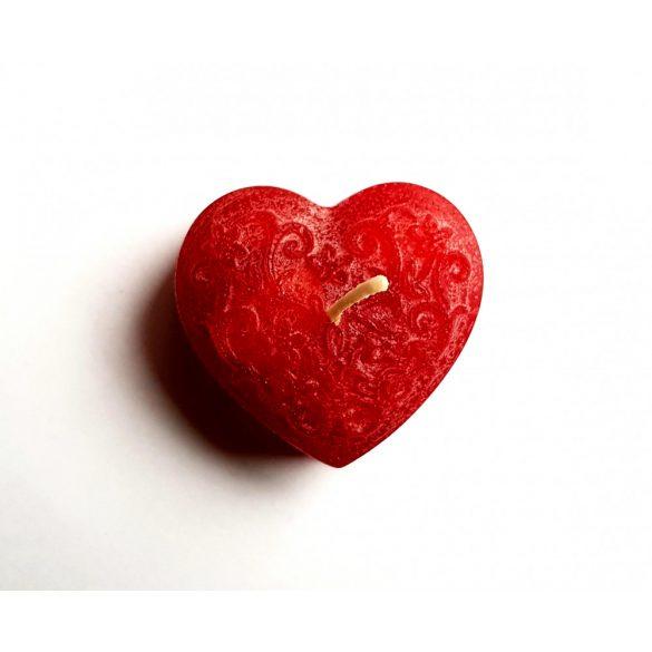 Mintás tetejű szív
