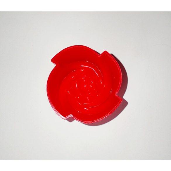Rózsafej szilikonforma