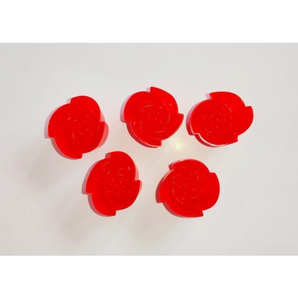 Rózsafej szilikonforma csomagban (5 db)