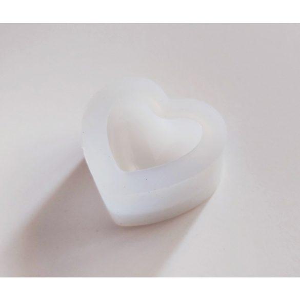 Szív alakú szilikoforma (nagy)