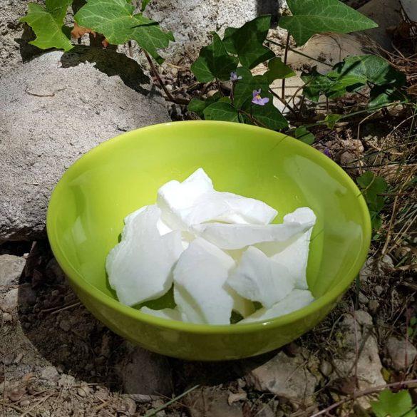 Kókuszos repceviasz tégelyes gyertya készítéséhez (1 kg)